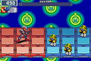Megaman Battle Network 4 Blue Moon (GBA)