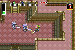 Legend of Zelda (The): A Link to The Past: Four Swords (GBA)