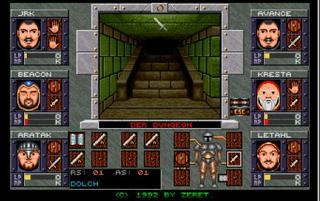 Dungeons of Avalon II: The Island of Darkness (D) (Amiga)