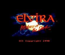 Elvira: Mistress Of The Dark (Amiga)