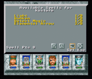 Might and Magic III: Isles of Terra (SNES)